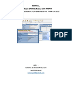 Manual Aplikasi Raport K 13