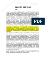 2. OCLUSIÓN FISIOLÓGICA