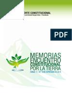 Encuentro Jurisdiccional 2014 sobre medio ambiente