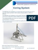 Box Corer Brochure