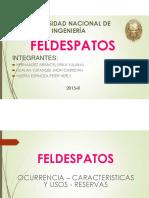 Exposicion de Feldespatos 2015-II