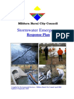 StormwateStormwater Emergency Response Planr Emergency Response Plan