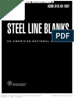 Asme b16.48 Steel Line Blanks(1997)