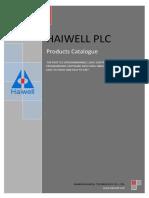 Haiwell PLC Catalogue