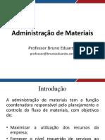 adm materiais