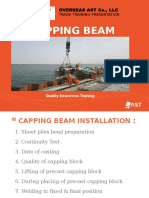 Capping Beam Installation - Training Presentation_Rev.01-Chinmoy