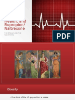 Obesity, Cardiac Health, And Bupropion-Naltrexone