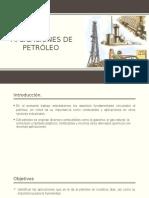 Aplicaciones de Petróleo