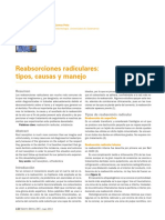 Reabsorciones Radiculares GACETA DENTAL