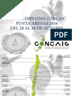 Primera Presentacion Olimpidas Punta Arenas 2016 Final