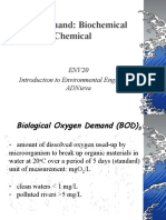 Oxygen Demand Biological and Chemical