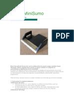 Robot MiniSumo Detallado