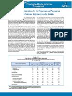 Informe Tecnico n02 Pbi Trimestral 2016i
