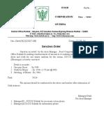 FCI Letter Pad