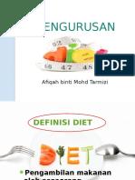 Pengurusan Diet