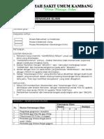 Formulir Pengajuan Kewenangan Klinis Dokter GIGI