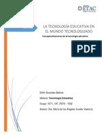 Concepción de la tecnología educativa