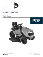 Arien Hydro Tractor Parts Manual