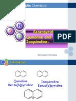 Ch 4 Part 2 Quinoline and Isoquinoline (1)