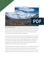 Everest Base Camp Trek | Basecamp Adventure