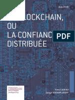 Yves Caseau et Serge Soudoplatoff - La blockchain, ou la confiance distribuée