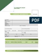 Jcg Candidate Information Form