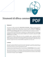 TDIs - Strumenti Di Difesa Commerciale