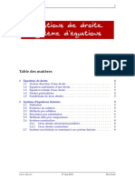 Chapitre 9 Equation Droite Systeme Equations