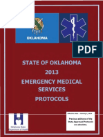 2013 State of Oklahoma EMS Protocols