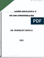 Evaluación Educativa y de los Aprendizajes