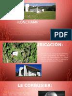 Capilla Ronchamp