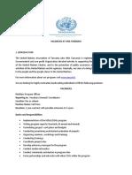 Vacancy UNA Tanzania1