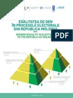 """Studiu """"Egalitatea de gen în procesele electorale din Republica Moldova"""""""