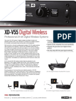 XD-V55 Family One Sheet - English ( Rev a )