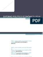 MArketing Entorno Poli­tico, Economico, Legal