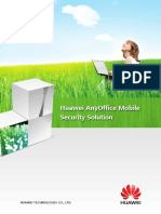 HUAWEI AnyOffice Mobile Security Solution Datasheet