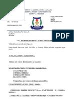 Taarifa Ya Dso Mwezi Aprili 2015
