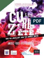 Les Curioz'été 2016 - Charente