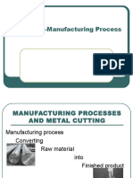 Chapter 1 Manufacturing Process
