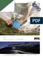 Petzl Sport Catalog 2012 ES