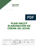 Plan Haccp Crema de Leche Planta Trujillo - Nueva Estructura