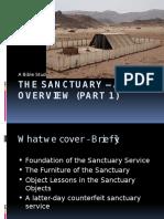 Sanctuary Bible Study Part 1 Overview