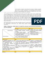 Sample Assignment - Strategic Marketing