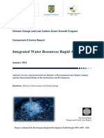 Report - Water Sector Rapid Assessment