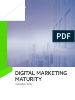 Digital Marketing Maturity Evaluation Guide