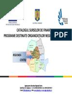 Catalogul Surselor de Finantare Pentru ONG Septembrie 2014