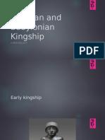 Assyrian and Babylonian Kingship