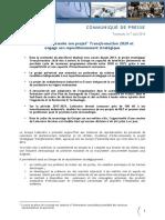 Latécoère présente son projet Transformation 2020