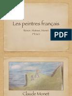 Les Peintres Français 1ESO