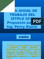Plan Anual de Trabajo Istplo2013